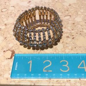 Stretch crystal bracelet